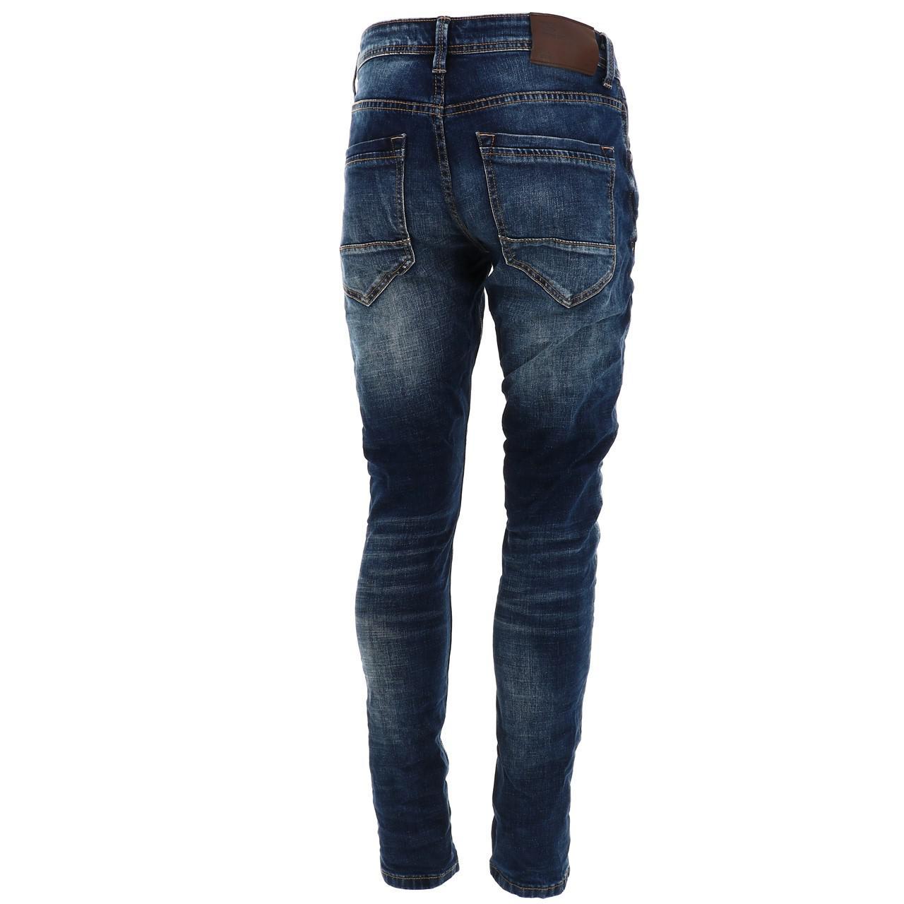 Jeans-Pants-Senders-Bullon-Used-Blue-Blue-41918-New thumbnail 5