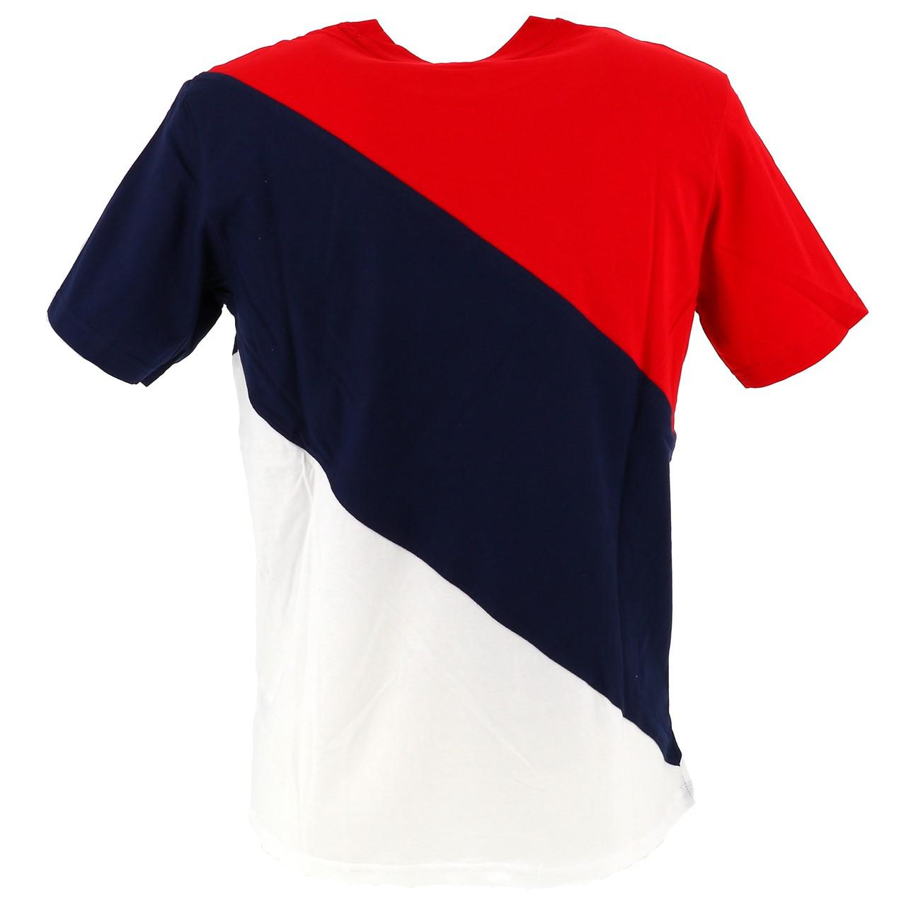 Short-Fila-Grove-Diagonal-3-Color-Red-42932-New thumbnail 5