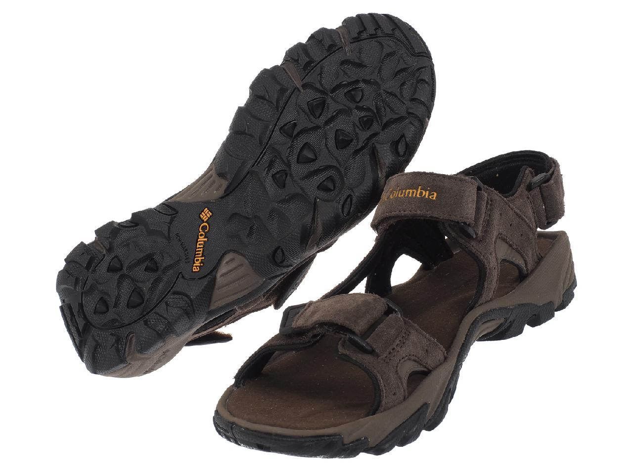 Sandals-Columbia-Santiam-3-Strap-Brown-44903-New thumbnail 4