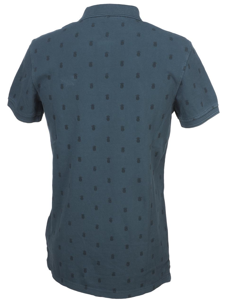 Short-Sleeve-Polo-Blend-Milan-Denim-Blue-Mc-Polo-Blue-45442-New thumbnail 5
