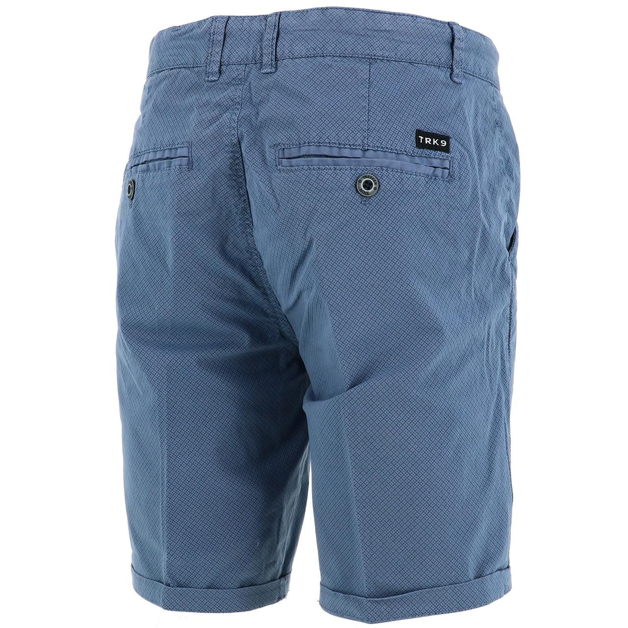 Bermuda-Shorts-Treeker9-Arizona-Chino-Strechy-Bl-Blue-47253-New thumbnail 5
