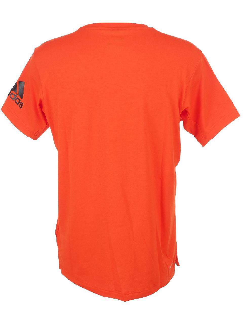 Short-Sleeve-T-Shirt-Adidas-Freelift-Premium-Rge-Mc-Tee-Red-50082-New thumbnail 4
