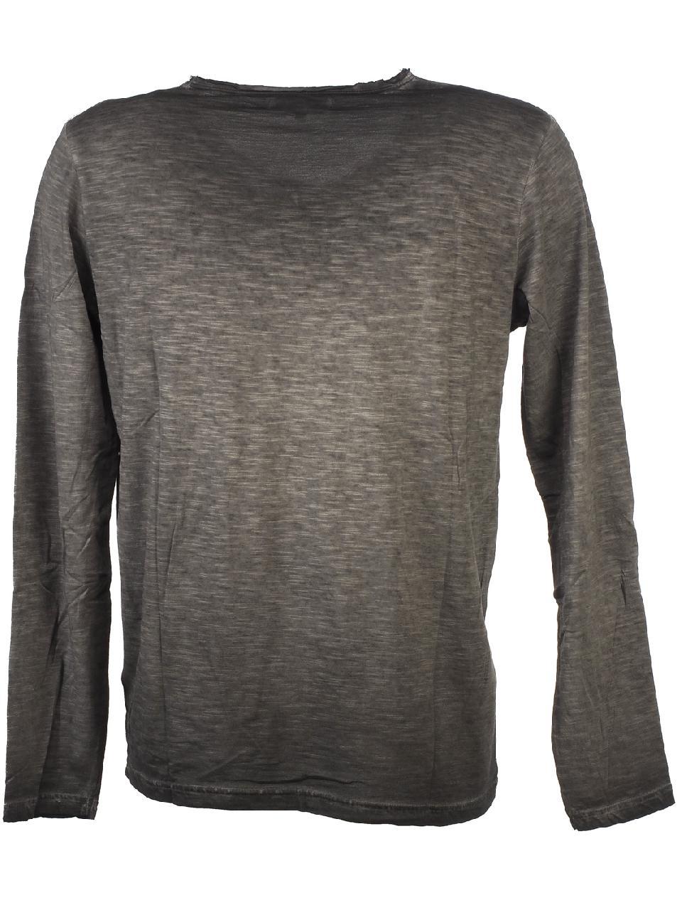 T-Shirt-Long-Sleeves-Biaggio-Lydil-Dk-Grey-ML-Tee-Grey-51660-New thumbnail 4