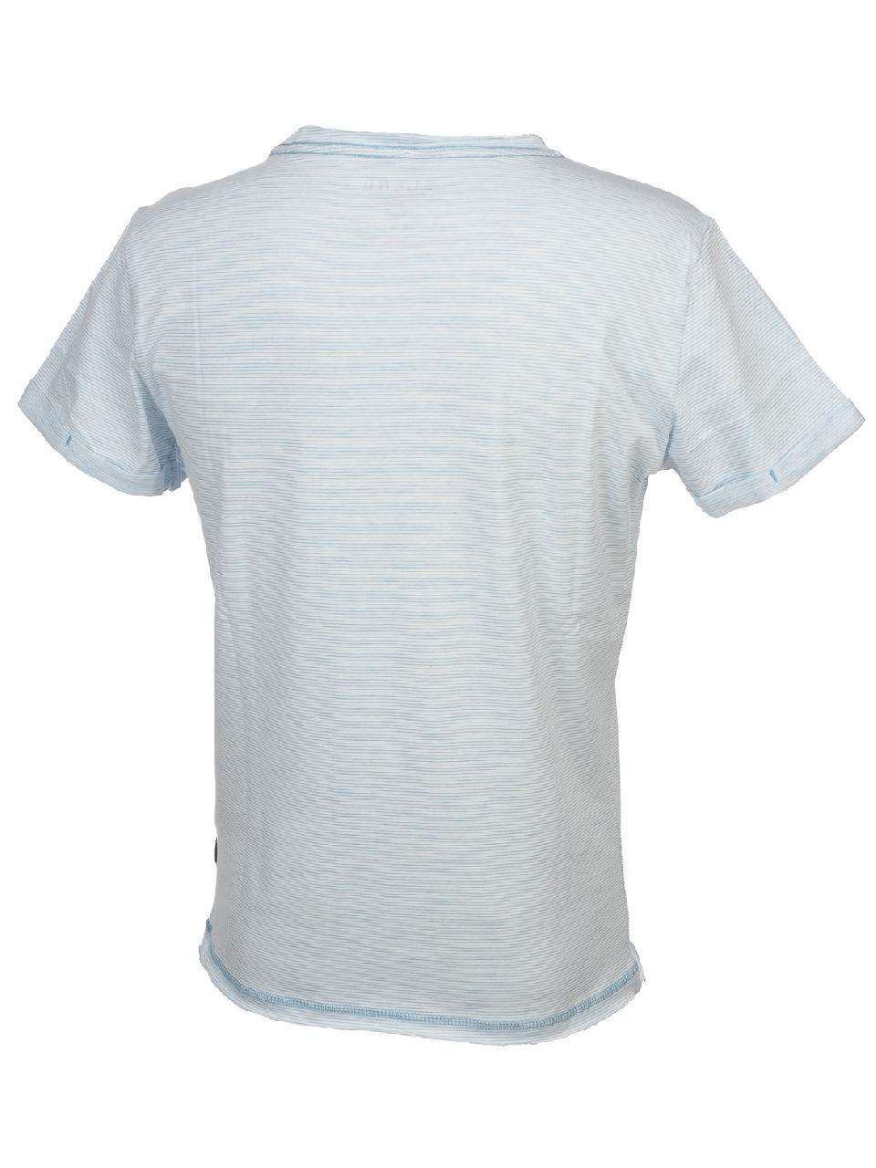 Short-Sleeve-T-Shirt-Blend-Prisco-Steel-Blue-Mc-Tee-Blue-52992-New thumbnail 5