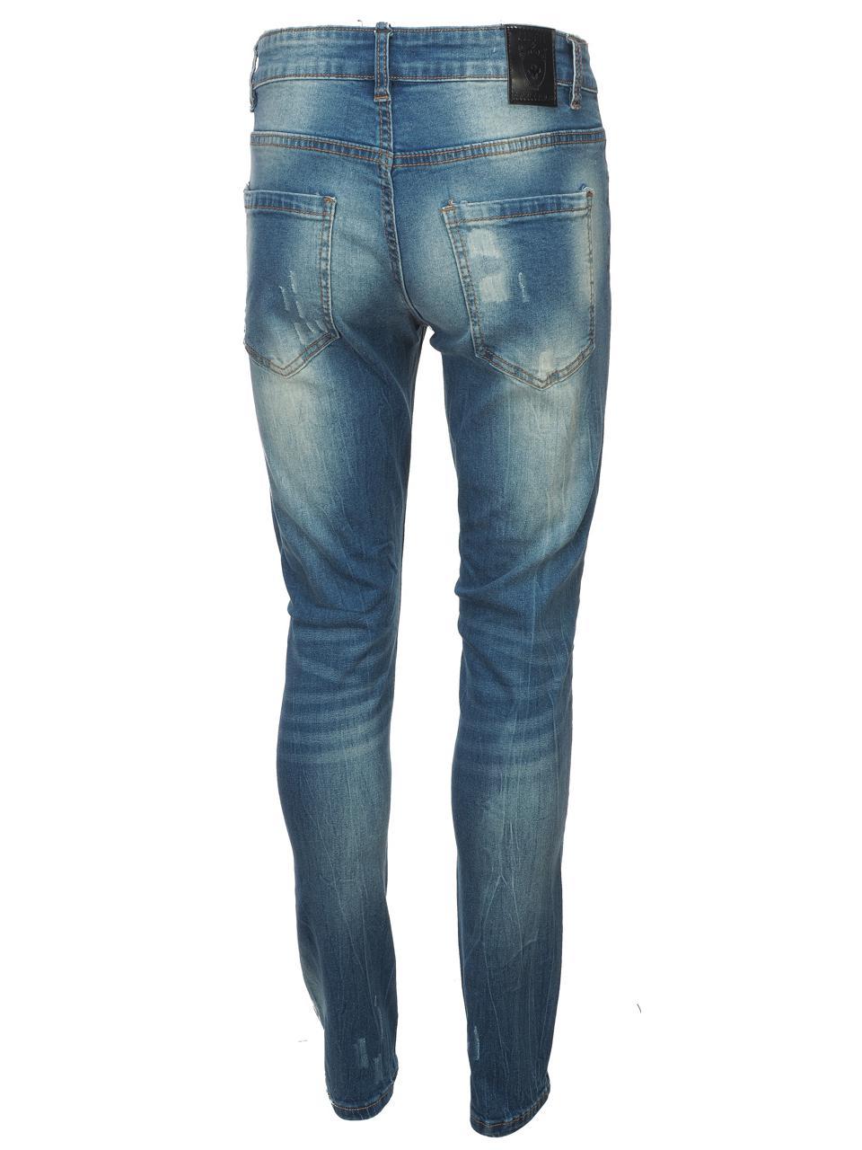 Jeans-Pants-Hite-Couture-Kimit-Blue-Blue-Jeans-56935-New thumbnail 5
