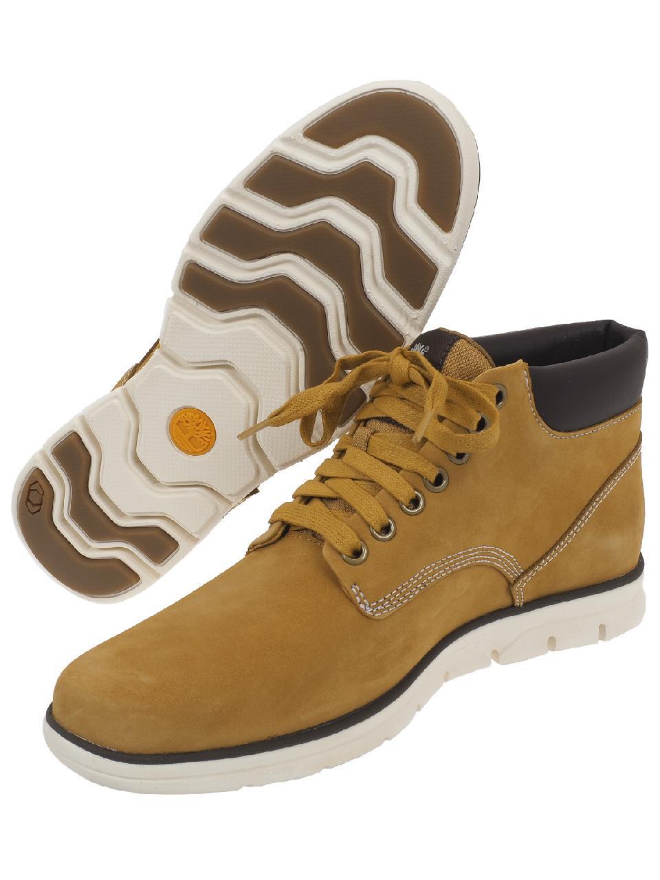 Détails sur Chaussures mid mi montantes Timberland Chukka leather wheat Marron 58371 Neuf