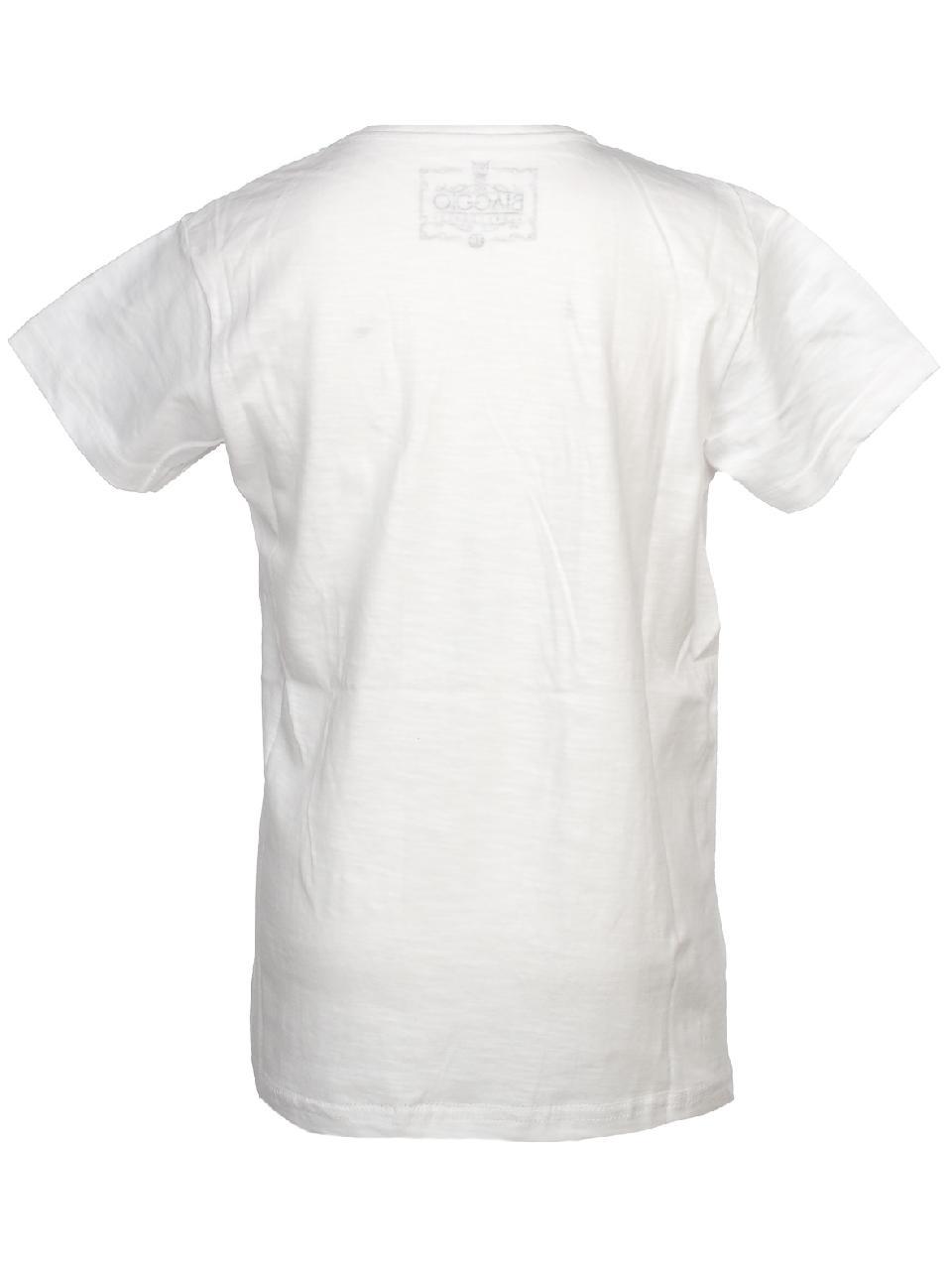 Tee-shirt-manches-courtes-Biaggio-Lorikel-blanc-mc-tee-jr-Blanc-58544-Neuf