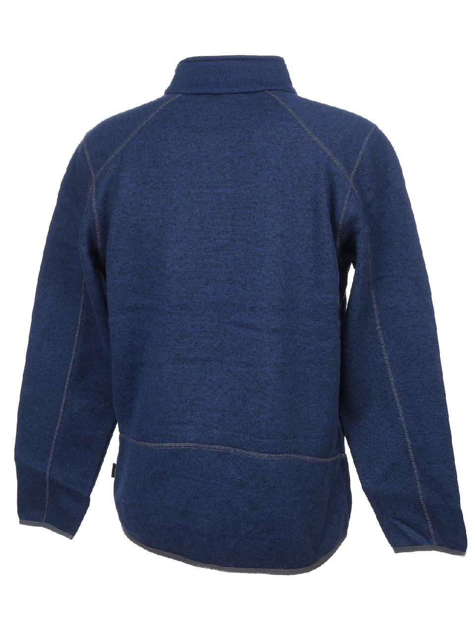 Jackets-Sweaters-Zip-Eldera-Sportswear-Croket-Navy-Ch-Fz-Vest-Blue-59840-New thumbnail 5