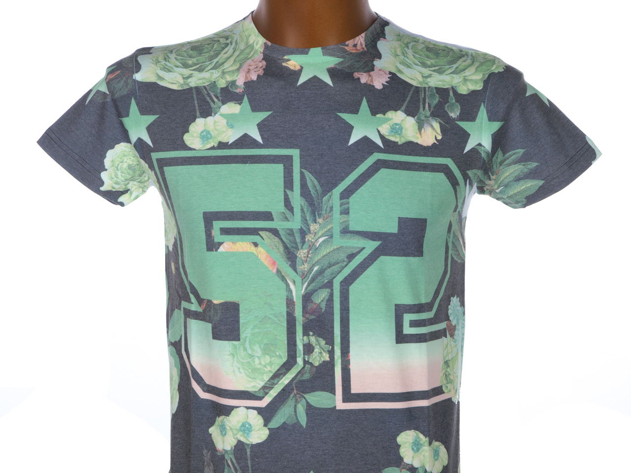 Tee-shirt-manches-courtes-Biaggio-Lanas-vert-mc-tee-Vert-65239-Neuf