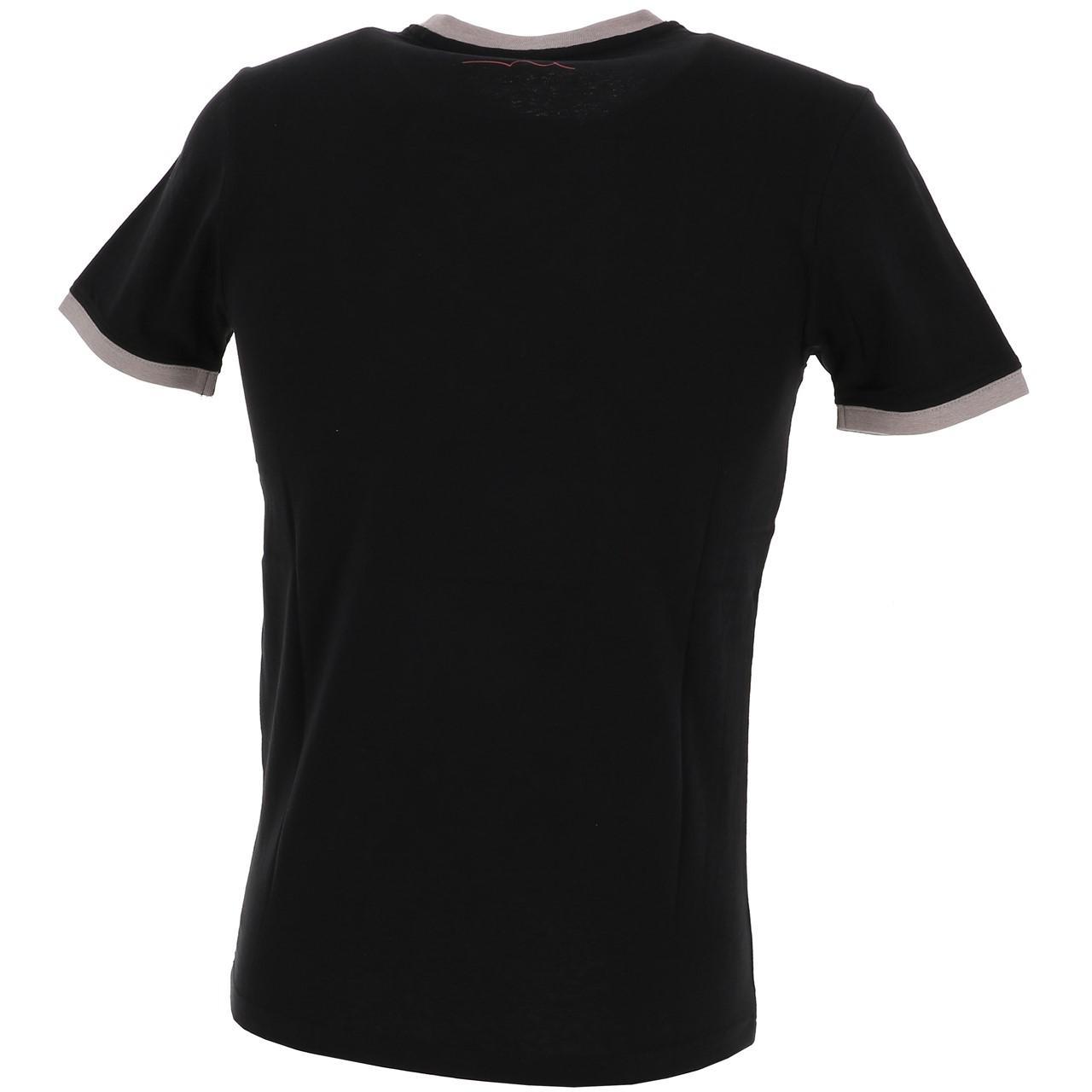 Short-Sleeve-T-Shirt-Teddy-Smith-the-Tee-Mc-Black-Black-65767-New thumbnail 5