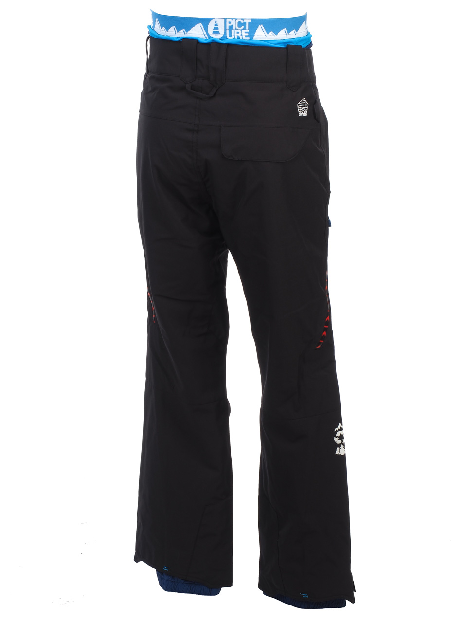 Pantalon-de-ski-surf-Picture-Base-blk-pant-fit-ski-Noir-67948-Neuf miniature 5