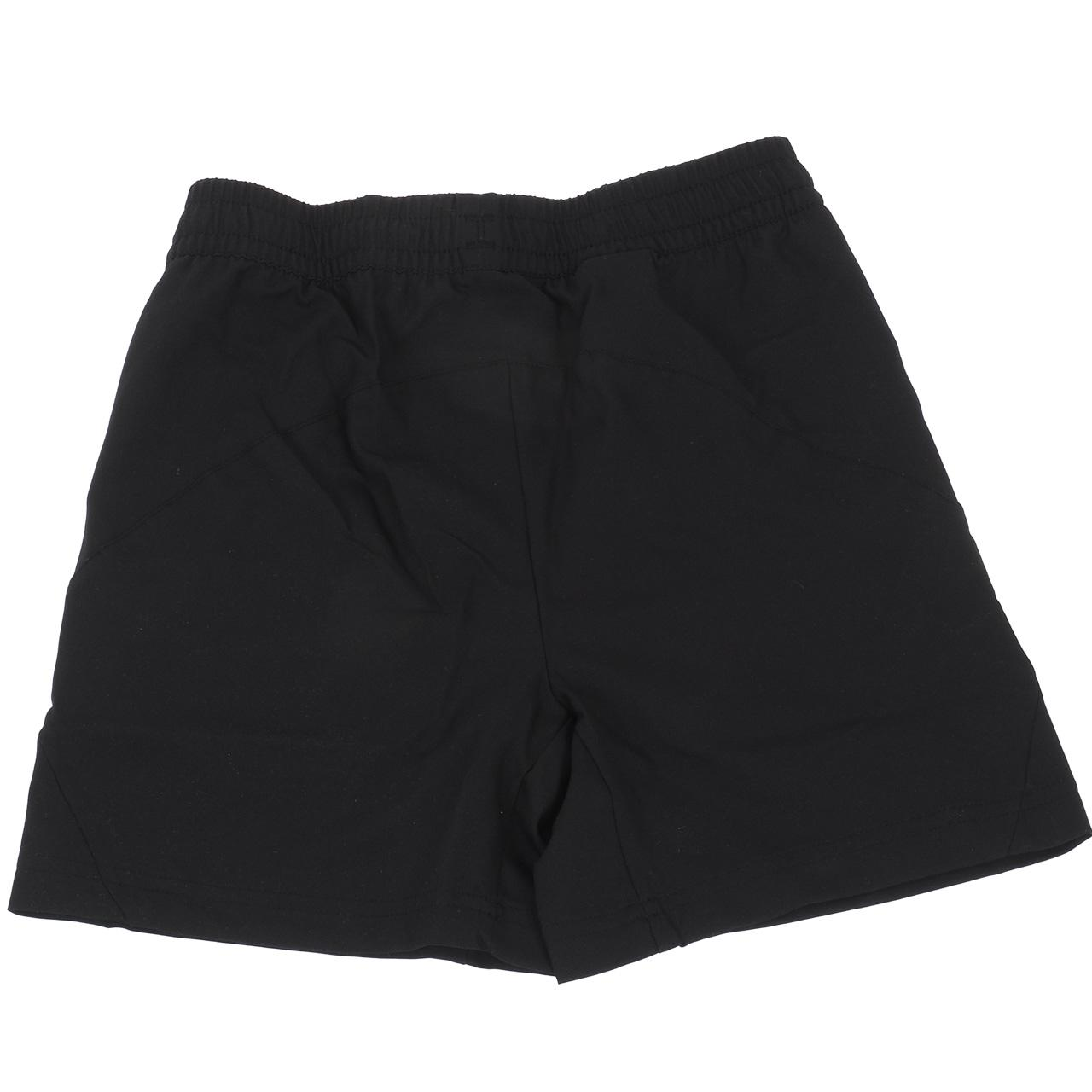 Short-de-tennis-Babolat-Short-core-black-kid-Blanc-70503-Neuf miniature 5