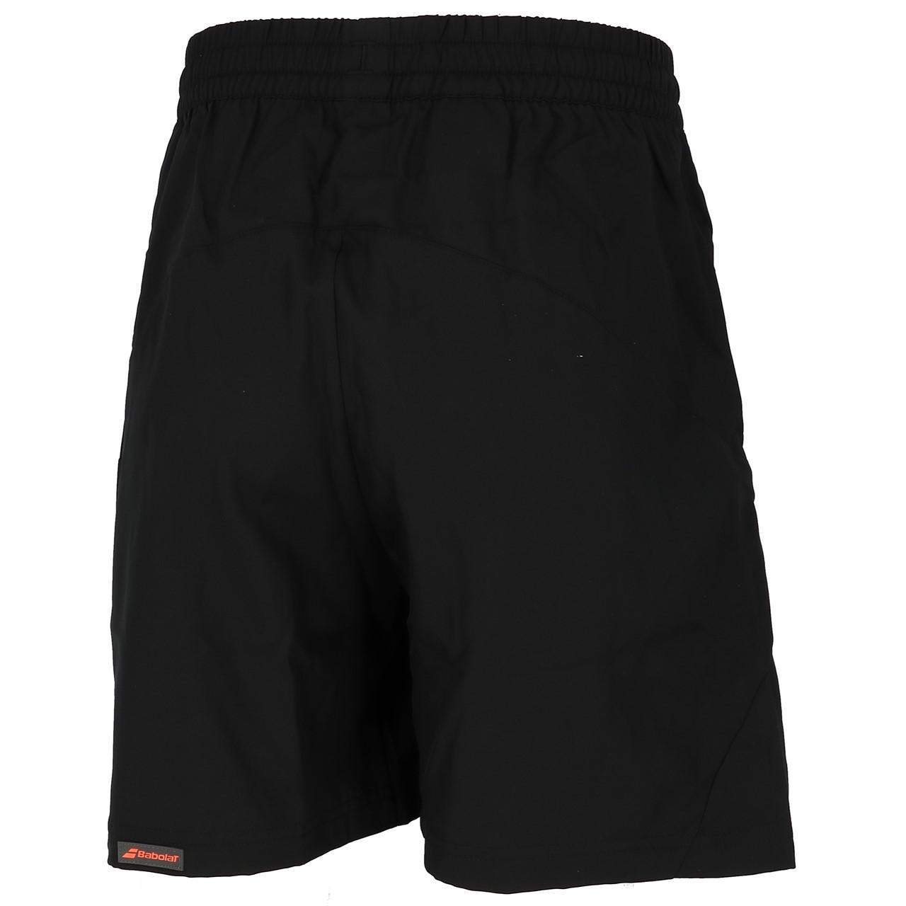 short-Tennis-Babolat-Core-Shorts-8-Men-Schwarz-Schwarz-71700-Neu Indexbild 5