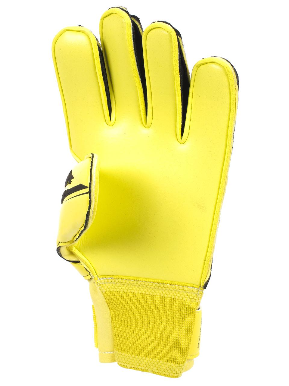 Gants-gardien-football-Uhlsport-Elm-soft-pro-h-Jaune-75371-Neuf