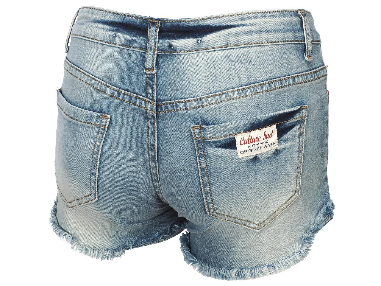 Bermuda-Shorts-Culture-sud-Sever-Short-Blue-75701-New thumbnail 5