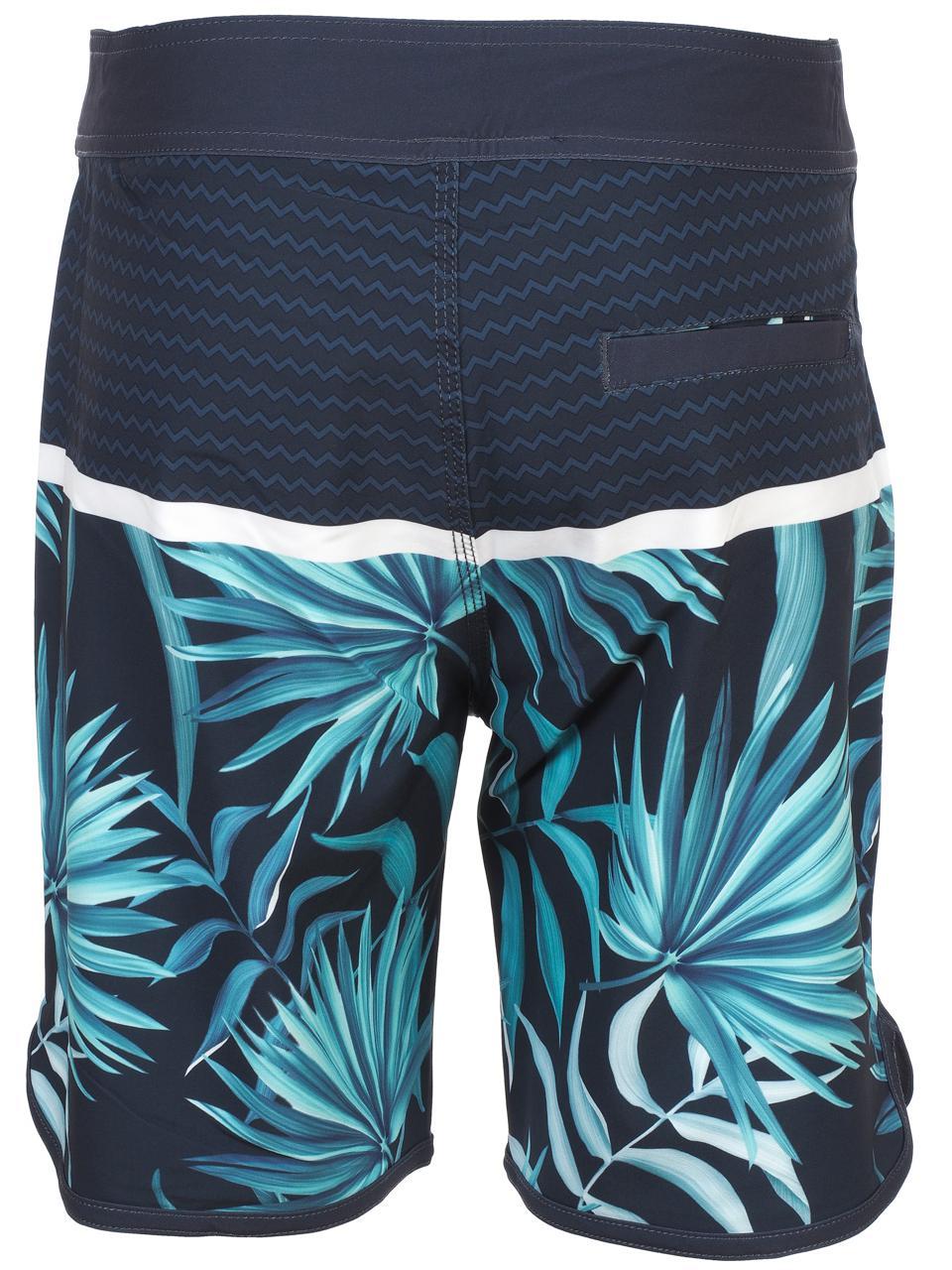 Boardshort-de-bain-Waxx-Boardie-costa-Bleu-77431-Neuf miniature 5