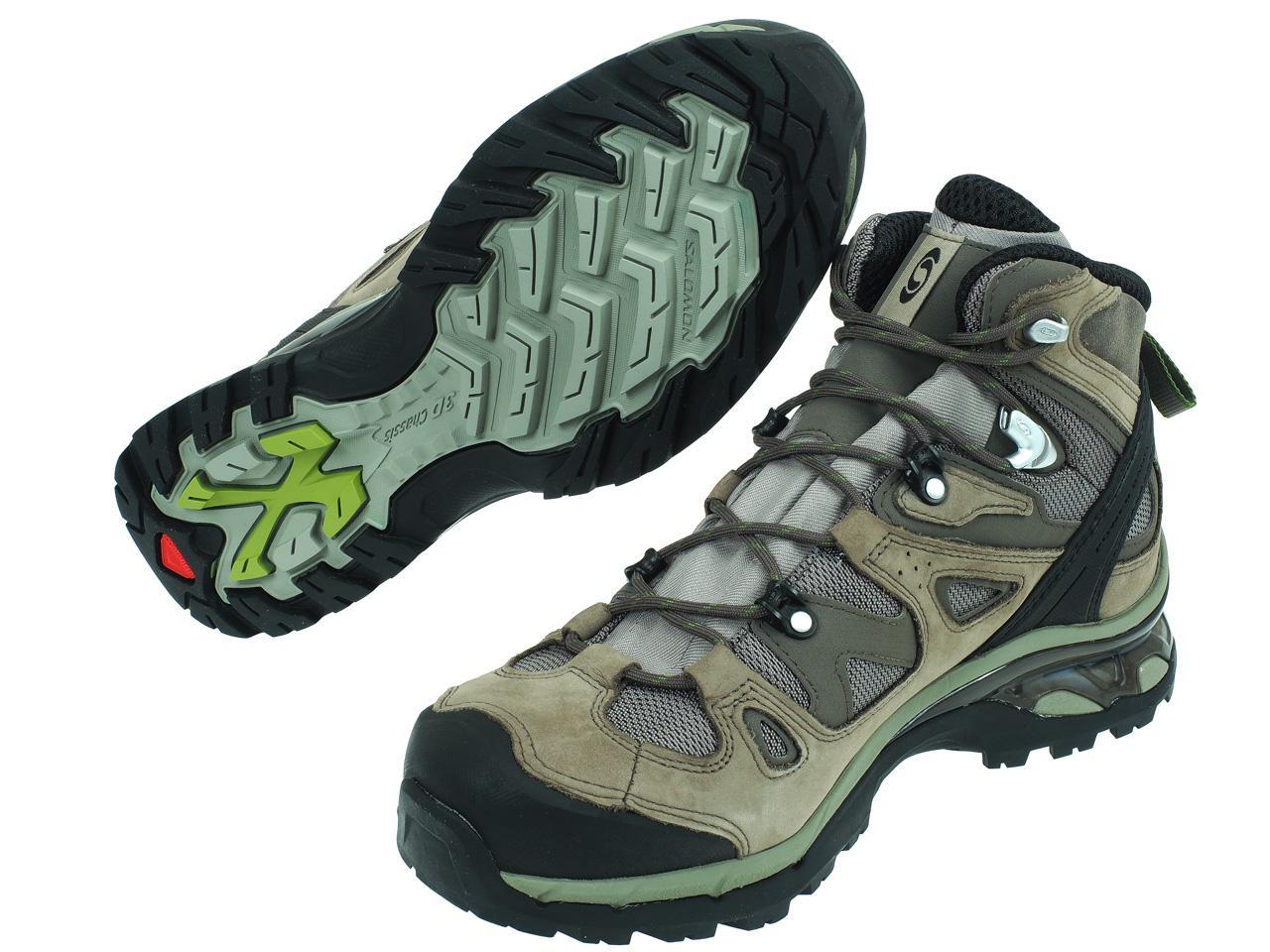 Chaussures-marche-randonnees-Salomon-Comet-3d-gtx-anth-Gris-78795-Neuf