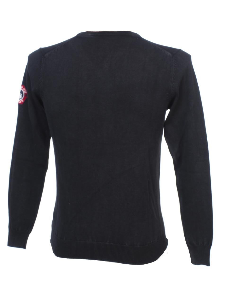 Thin-Sweater-Rivaldi-Black-Gilianu-Black-Black-Sweater-79337-New thumbnail 4