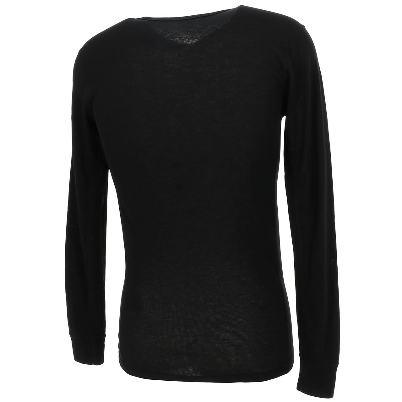 Under-Clothing-Thermal-Hot-Odlo-Warm-Black-DRC-ML-Tee-Black-85353-New thumbnail 5