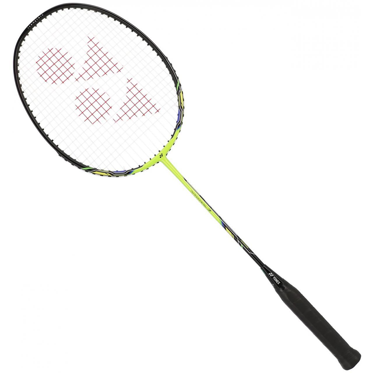Badminton-Racket-Yonex-Nanoray-3-3u4-Lime-Badminton-Yellow-91913-New thumbnail 5
