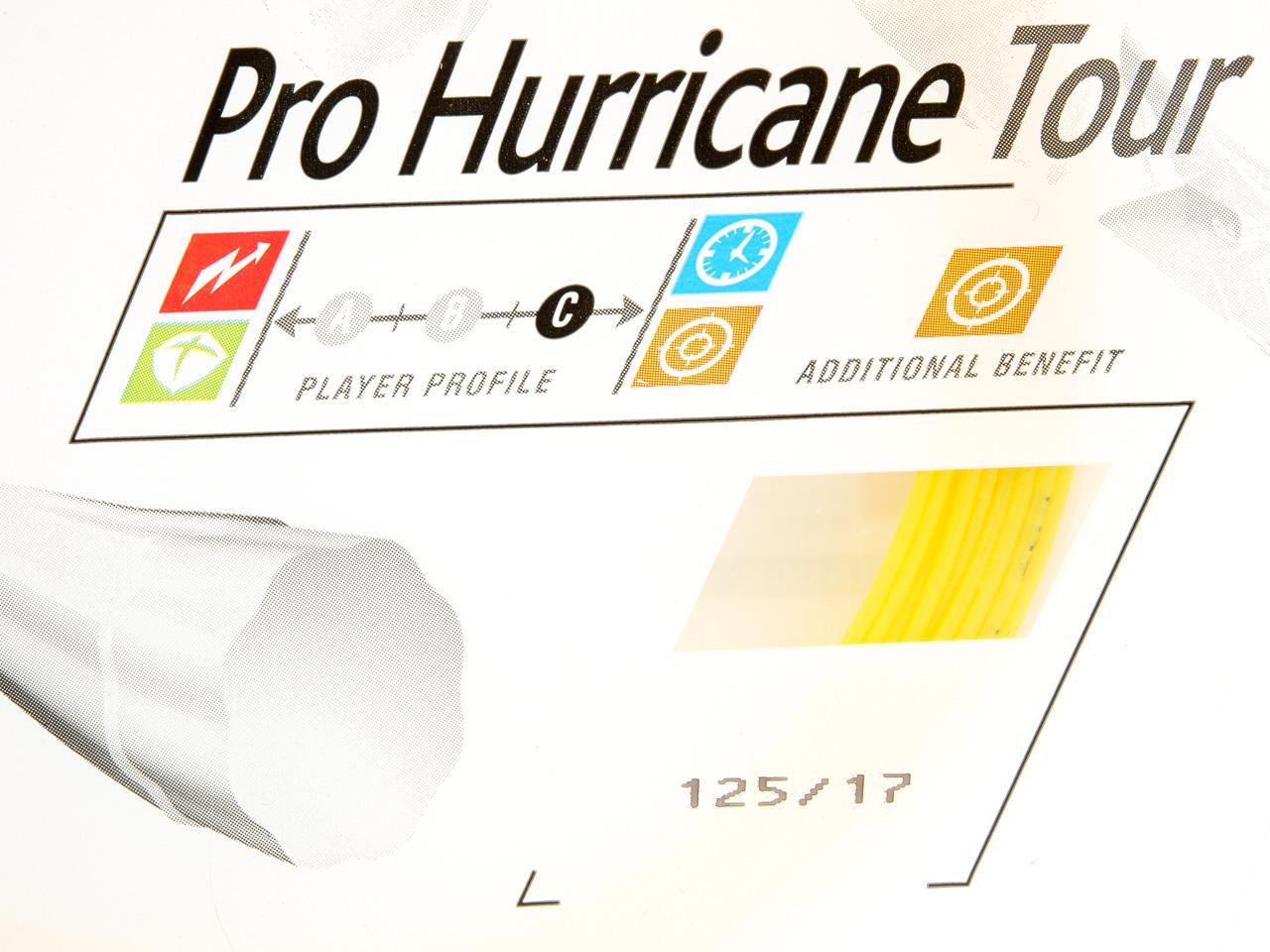 Tennis-Strings-Babolat-Pro-Hurricane-Tour-125-17-Yellow-96422-New thumbnail 3