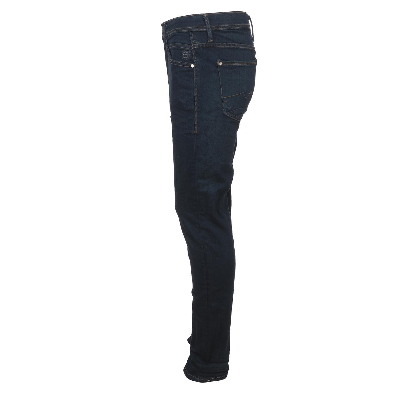 Jeans-Pants-Slim-Blend-Twister-34-Dk-Blue-Blue-Jeans-10961-New thumbnail 2