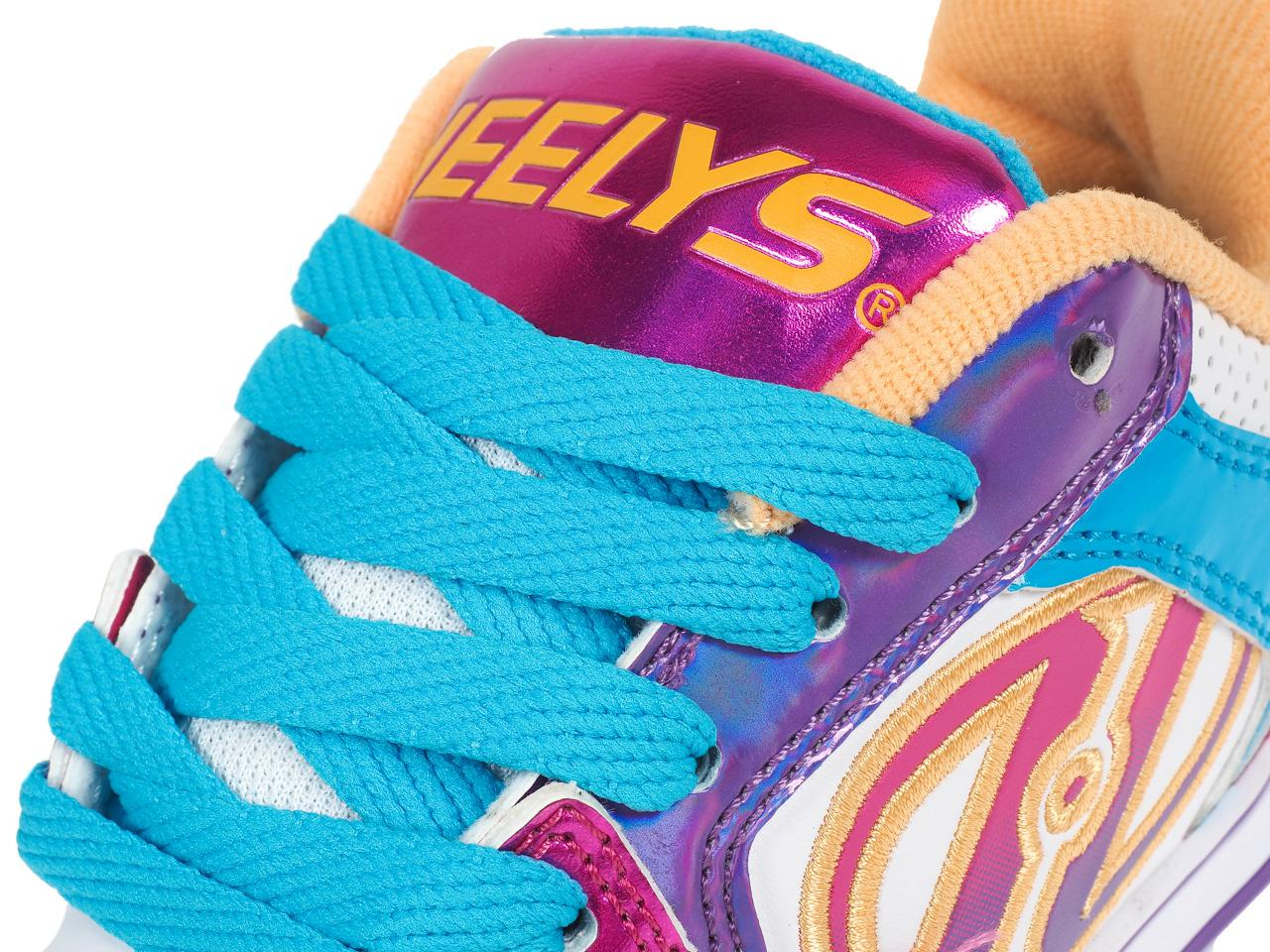 Shoes-to-Casters-Heelys-Motion-More-Fuchsia-White-Pink-11296-New thumbnail 2