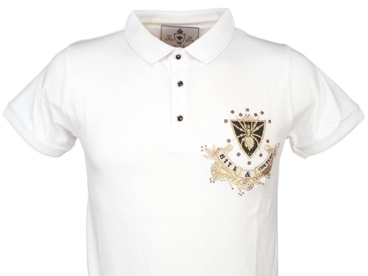 Short-Sleeve-Polo-Hite-Couture-Pamiler-White-Mc-Polo-White-11569-New thumbnail 2