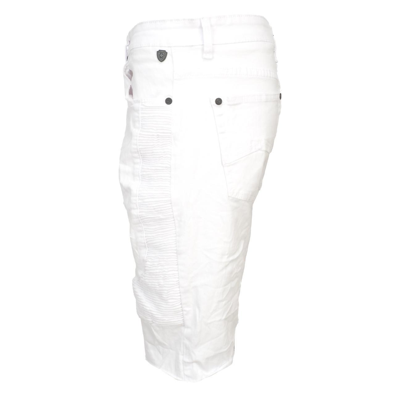 Bermuda-Shorts-Hite-Couture-Vibrate-White-Bermuda-White-11650-New thumbnail 2