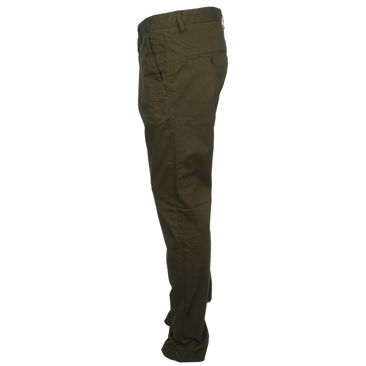 Hose-Teddy-Smith-Chino-Slim-Blk-Kaffee-Brown-12103-Neu Indexbild 2