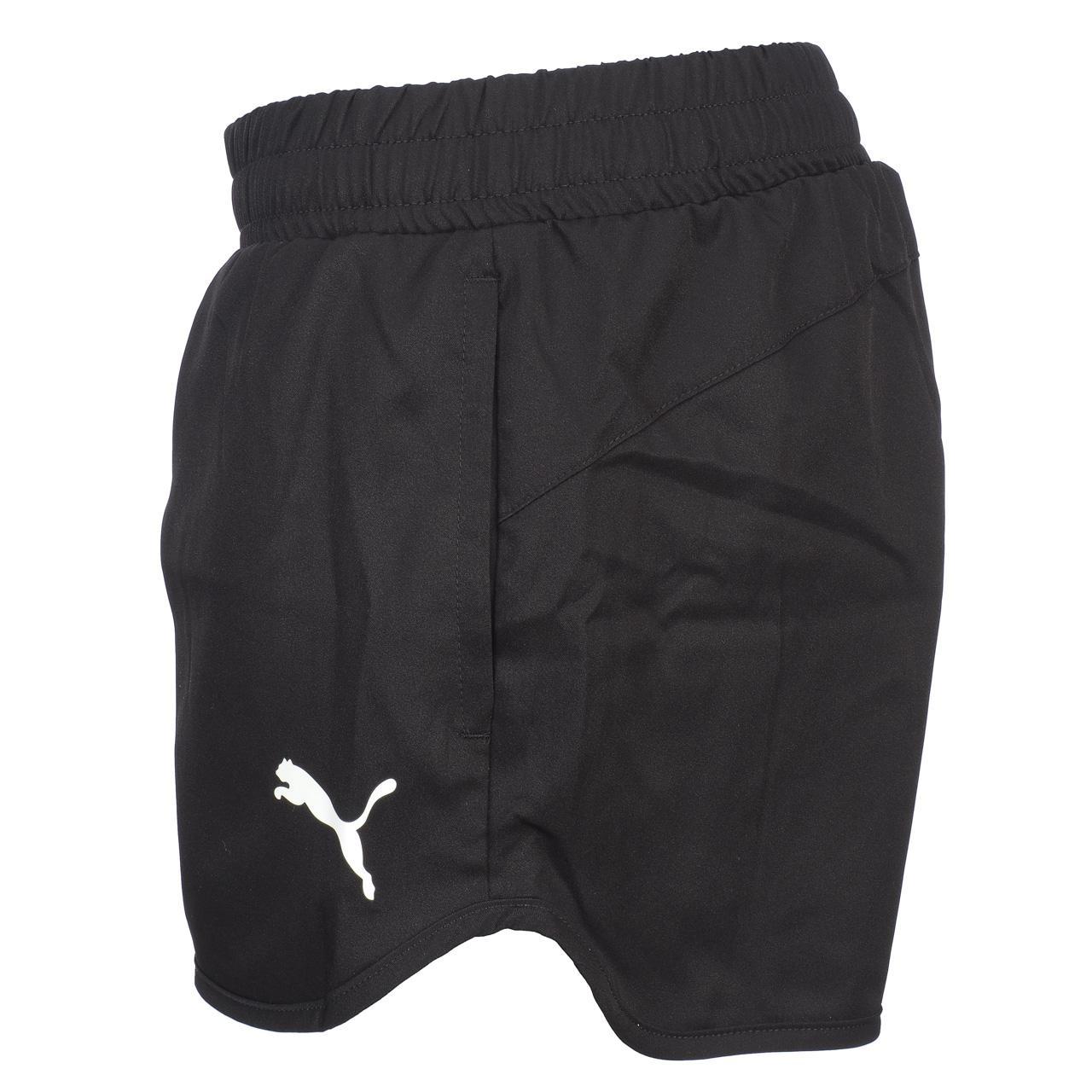 Frau-Shorts-Puma-Active-Woven-Shorts-Blk-L-Schwarz-13011-Neu Indexbild 2