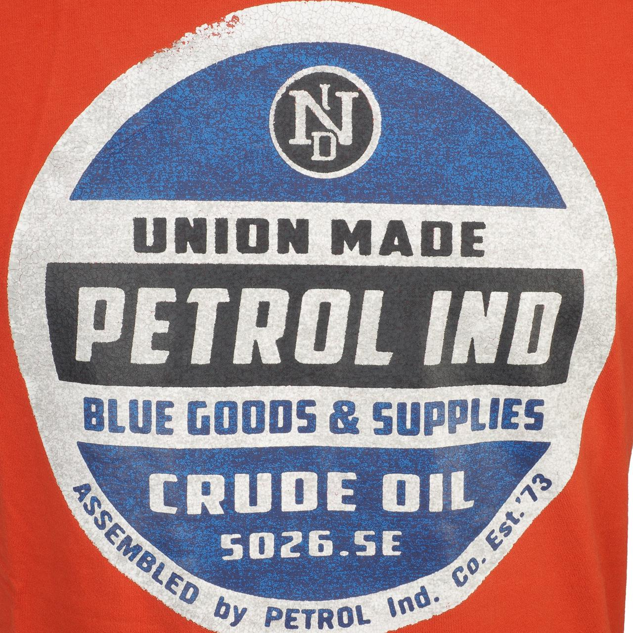 Short-Petrol-industries-Tsr607-Burnt-Orange-Mctee-Orange-137 thumbnail 2