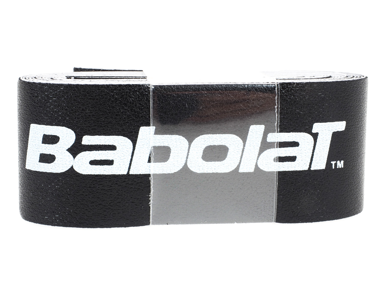 Protection-de-raquette-tennis-Babolat-Super-tape-noir-Noir-14136-Neuf miniature 2