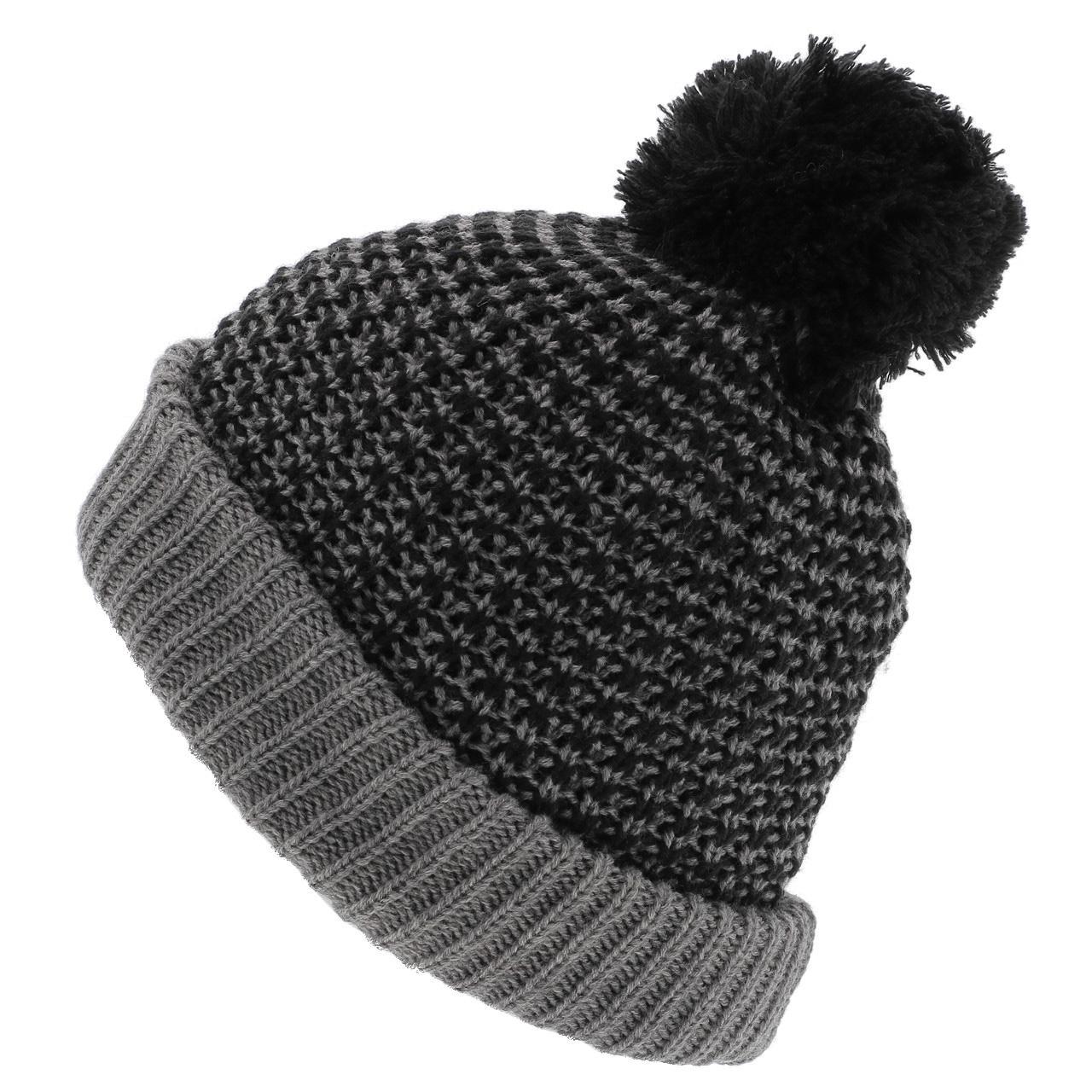 Bonnet-a-pompon-Picture-Ale-beanie-grey-Gris-14177-Neuf miniature 2