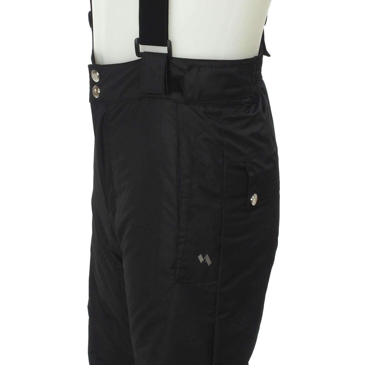 Pantalon-de-ski-surf-Alpes-vertigo-Testy-noir-pant-ski-jr-Noir-14604-Neuf miniature 2