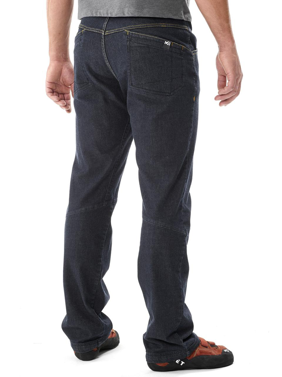 Hose-Jeans-Millet-Karambony-Hose-Denim-Dunkel-Blau-15043-Neu Indexbild 2