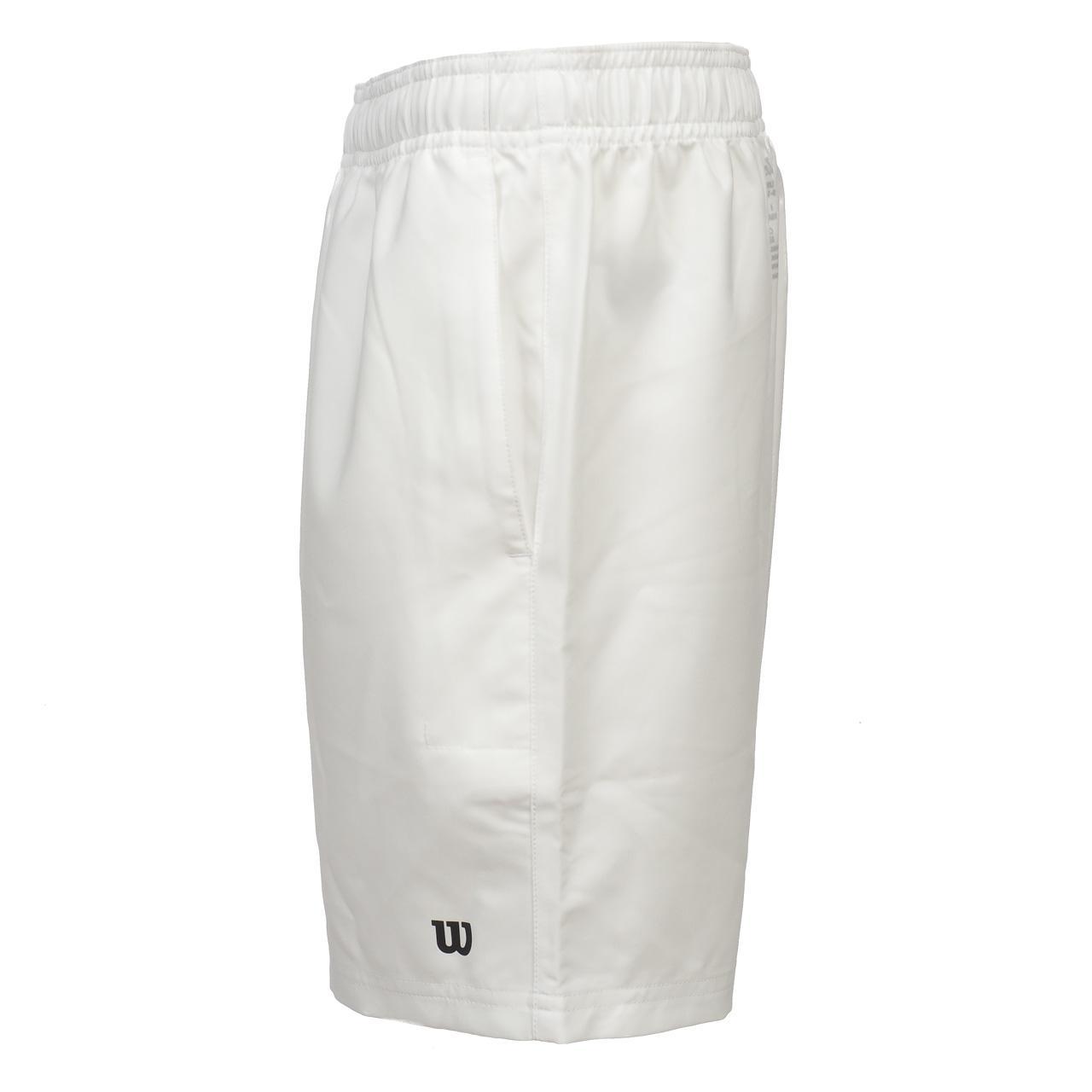 Short-de-tennis-Wilson-Team-7-blc-short-junior-Blanc-15570-Neuf miniature 2
