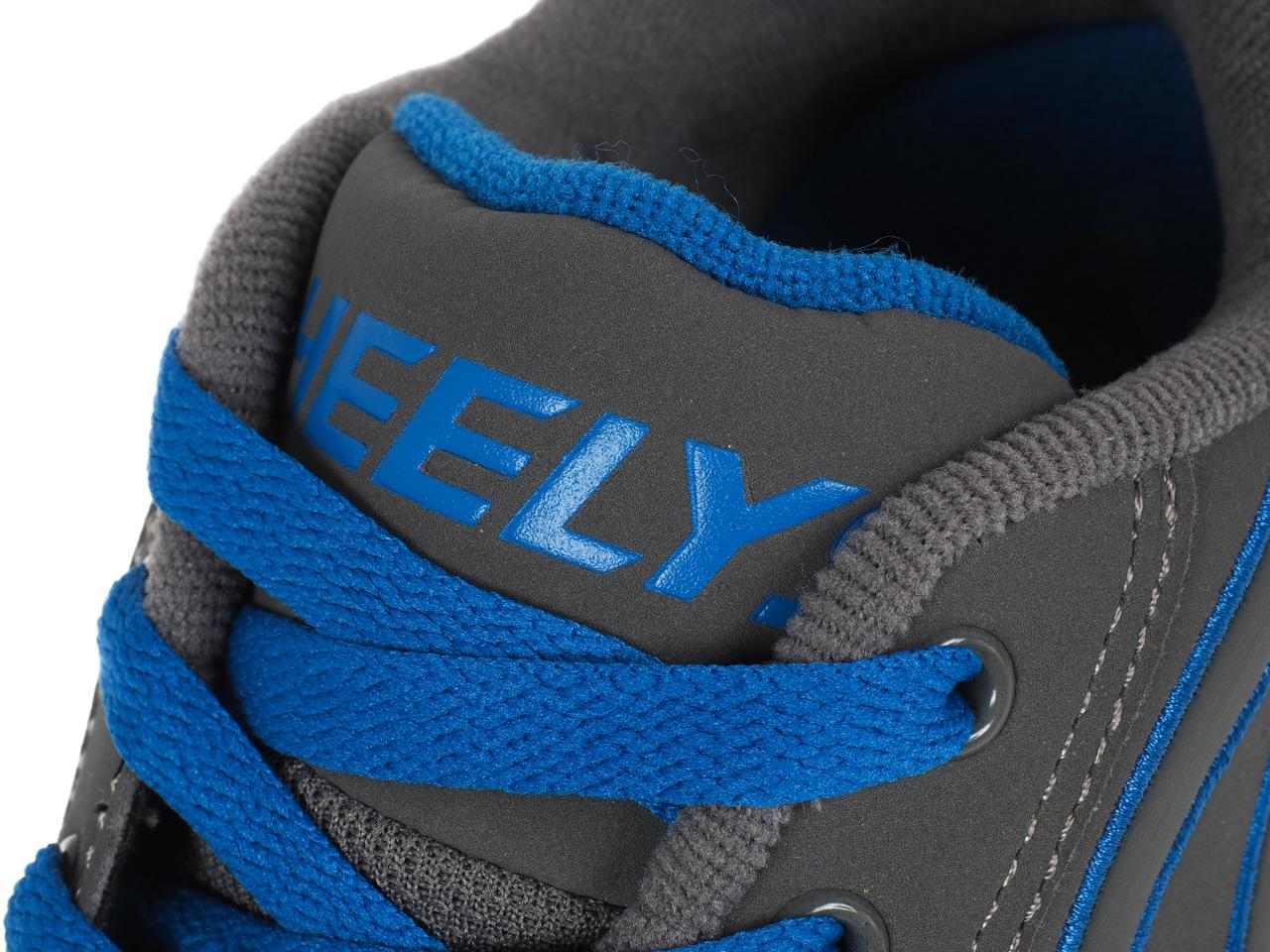Shoes-to-Casters-Heelys-Propel-2-0-Grey-Royal-Grey-15616-New thumbnail 2