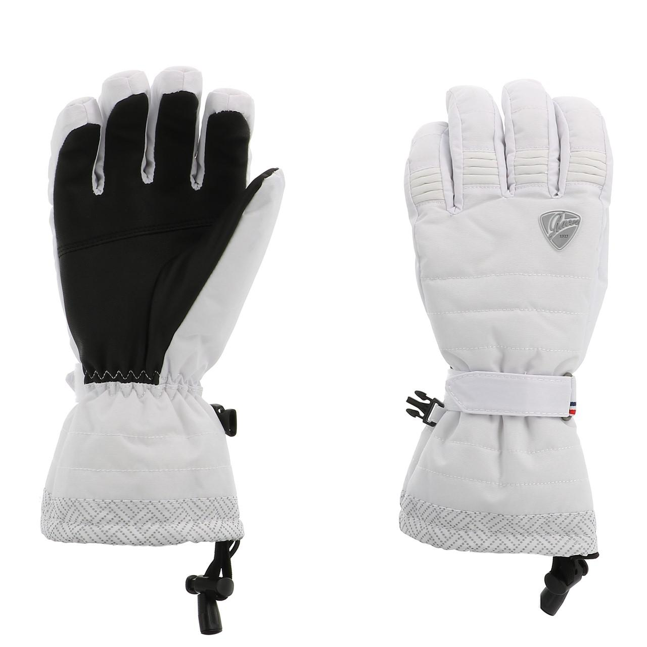 Ski-Gloves-Racer-Aloma-3-White-Gloves-Ski-L-White-15709-New thumbnail 2