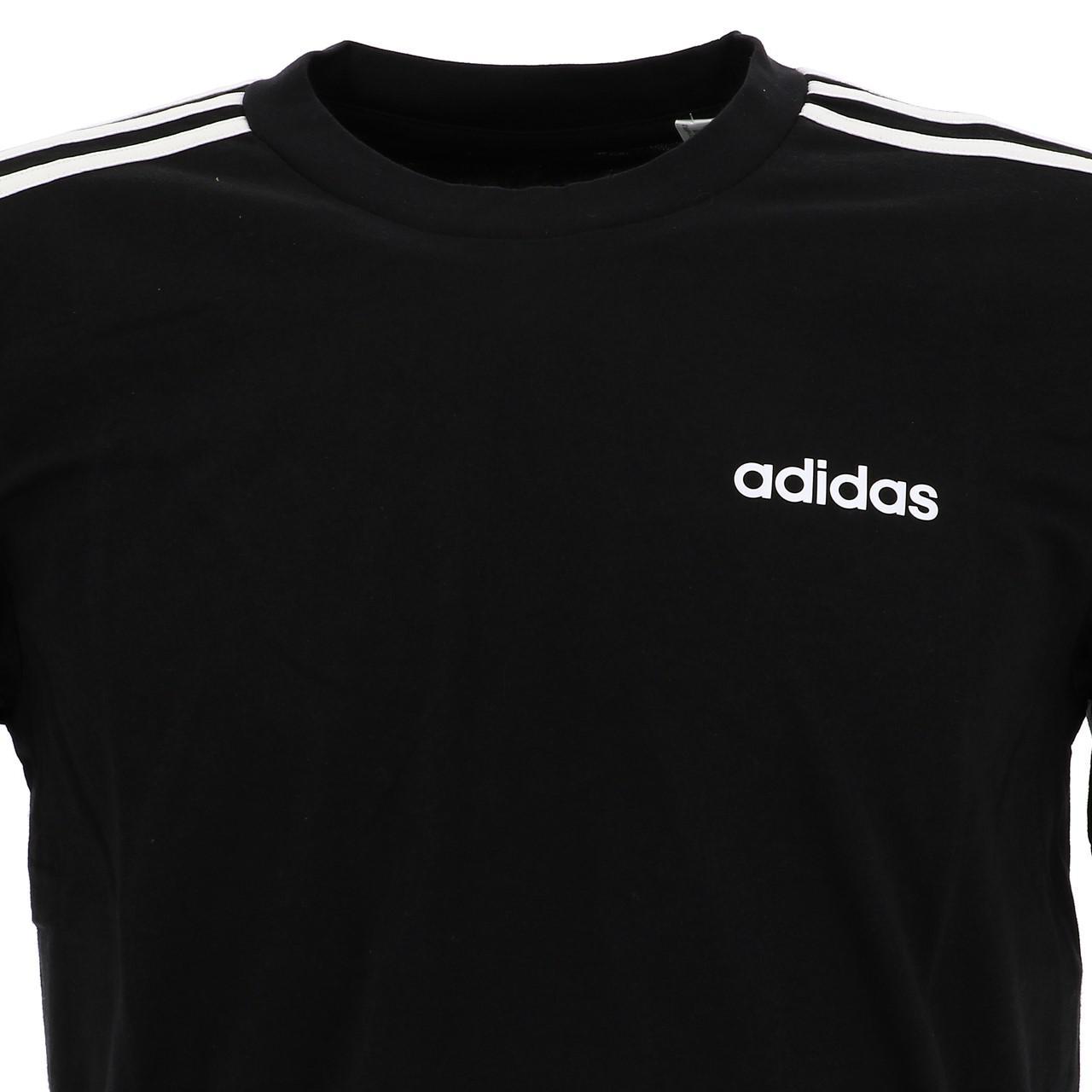 Short-Adidas-E-3s-Mc-Tee-Black-Wht-Black-16694-New thumbnail 2