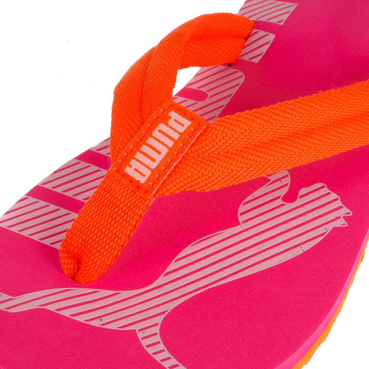 Latschen-Flip-Flops-Puma-Epic-Flip-v2-Rosa-Flip-Flops-Jr-Rosa-17067-Neu Indexbild 2