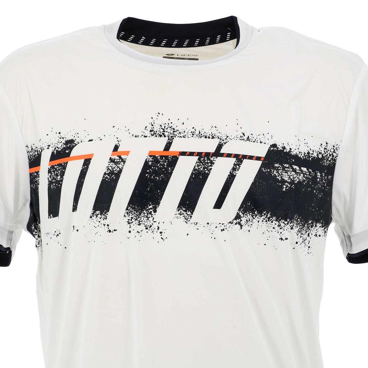 Short-Lotto-Logo-Print-White-Mc-Tee-White-17794-New thumbnail 2