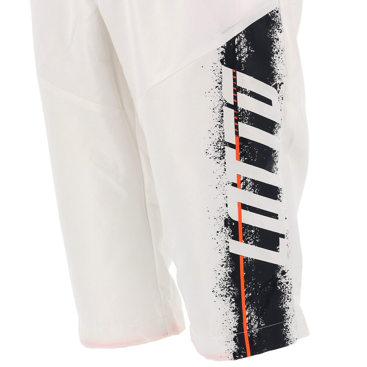 Three-Quarter-Pants-Bermuda-Lotto-Logo-White-Pants-mid-White-17800-New