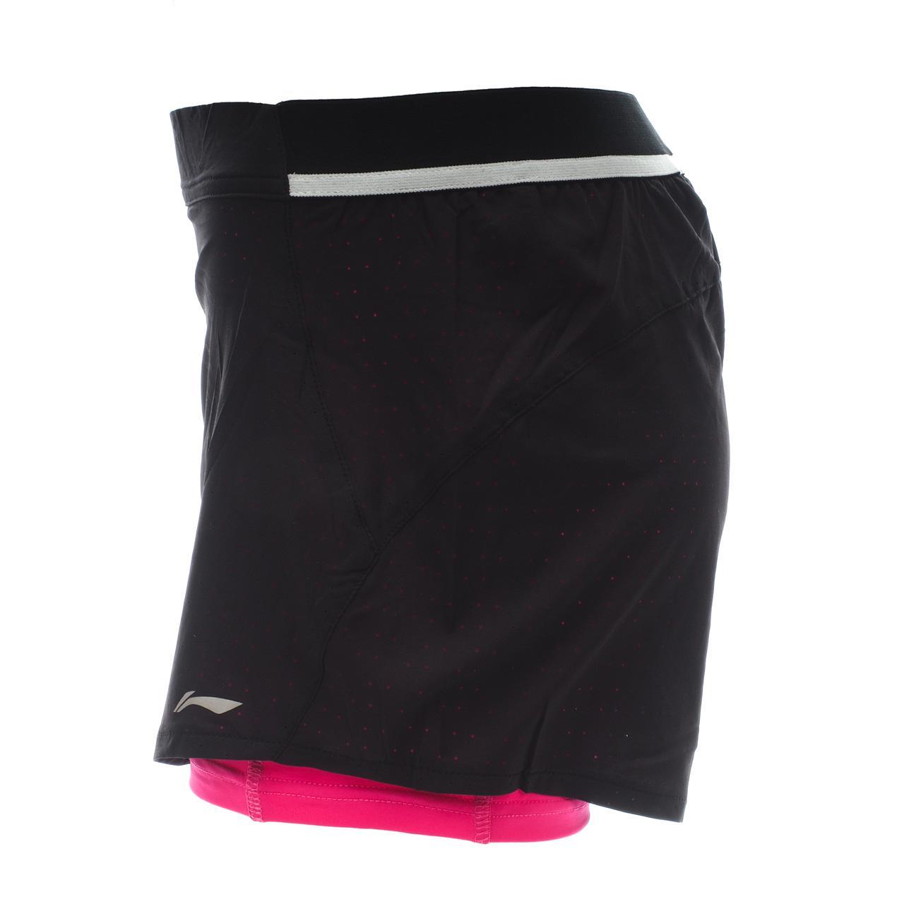 short-Laufen-Li-ning-Lolly-Nr-Rse-Shorts-Run-L-Schwarz-17898-Neu