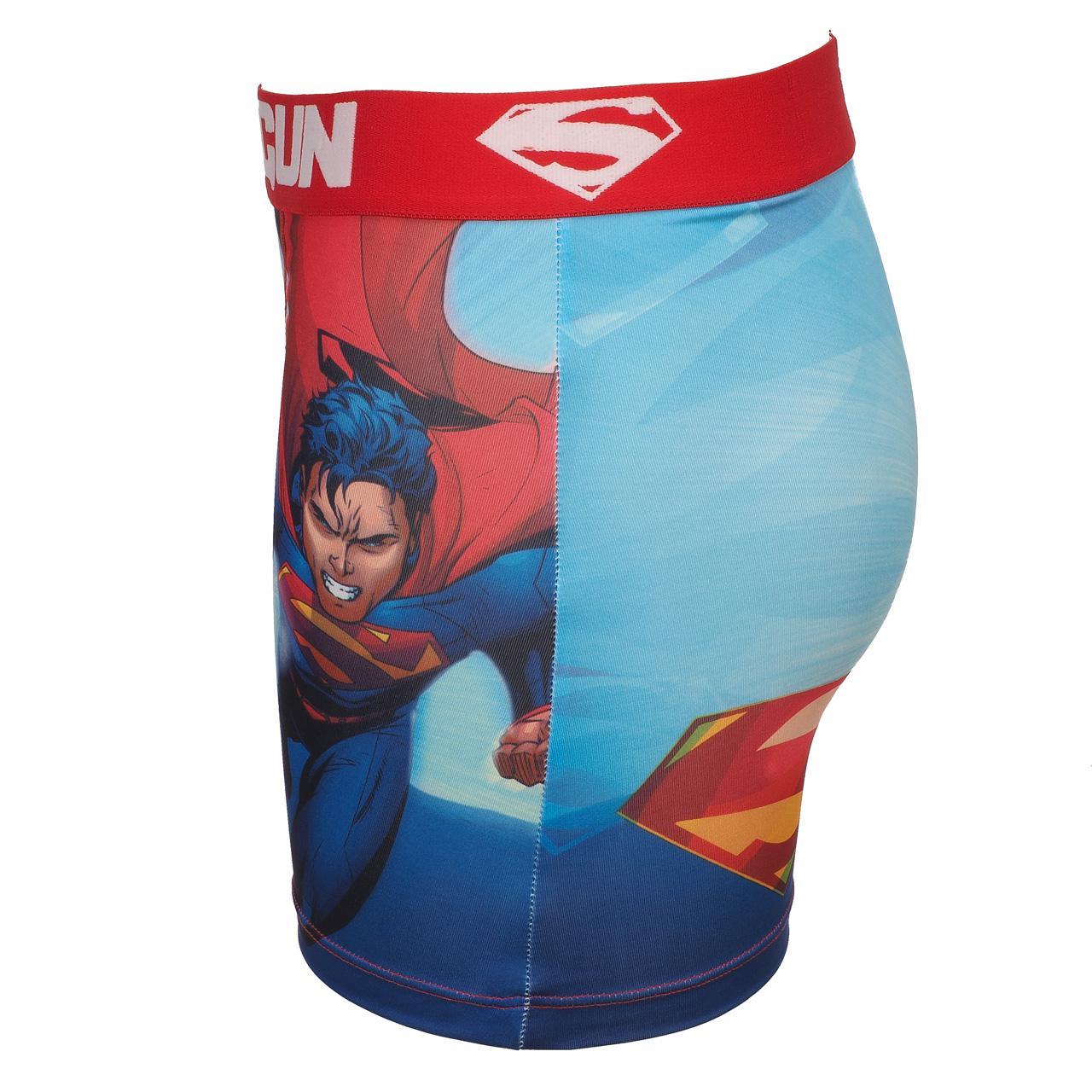 Underwear-Boxer-Freegun-Fly-Blue-Rge-Boxer-White-17911-New thumbnail 2