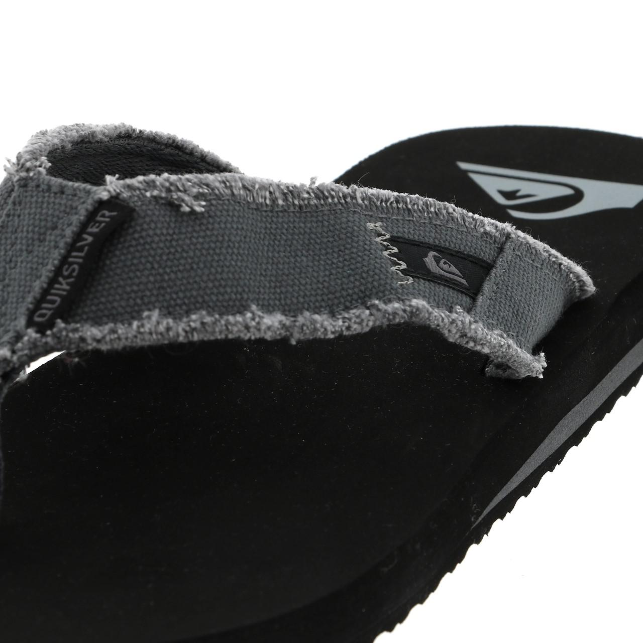 Flip-Flops-Tap-Dance-Shoes-Quiksilver-Monkey-Abyss-Groups-Blk-Flop-Grey-17978 thumbnail 2