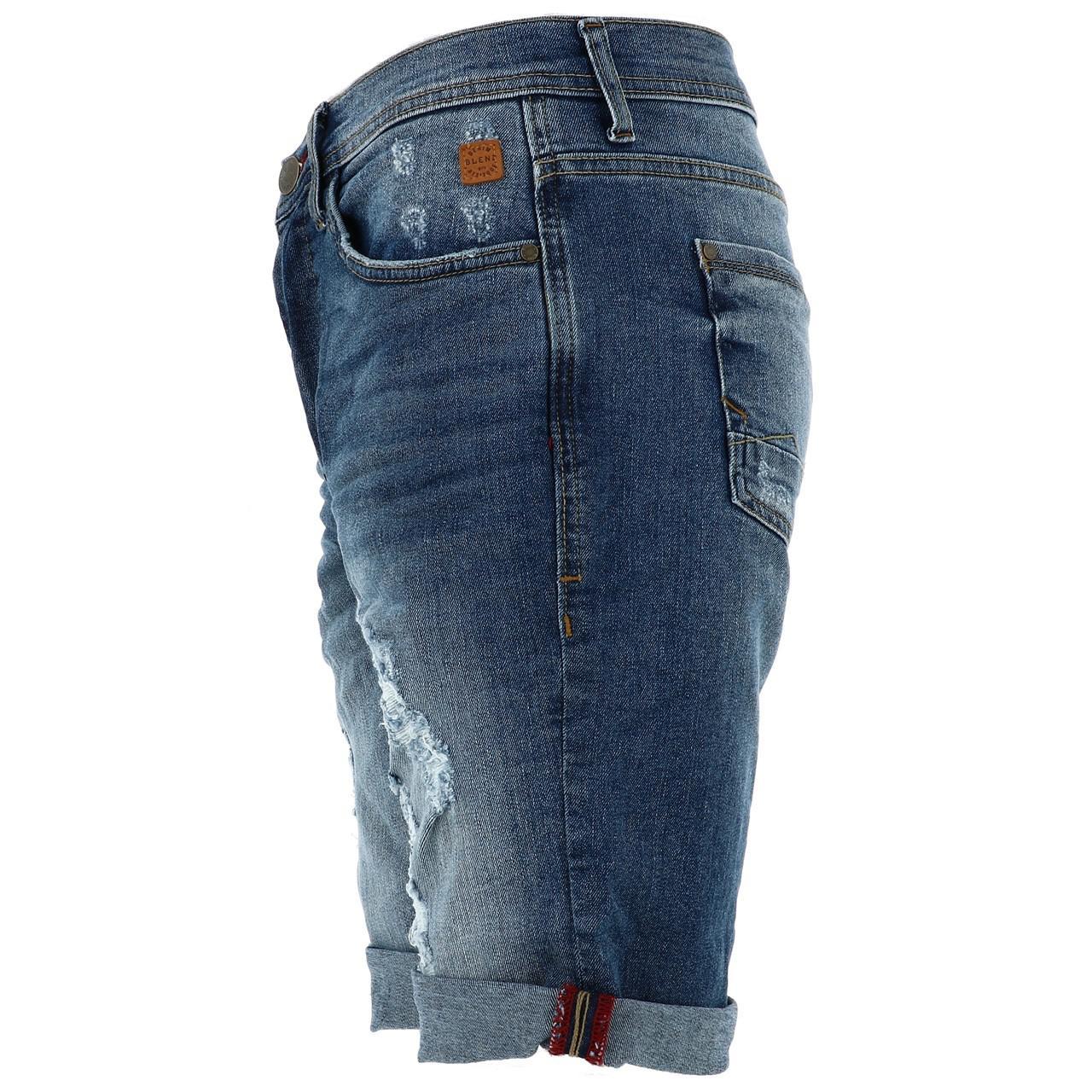Bermuda-Shorts-Blend-Jork-Denim-Lt-Blue-Shorts-Blue-18056-New thumbnail 2