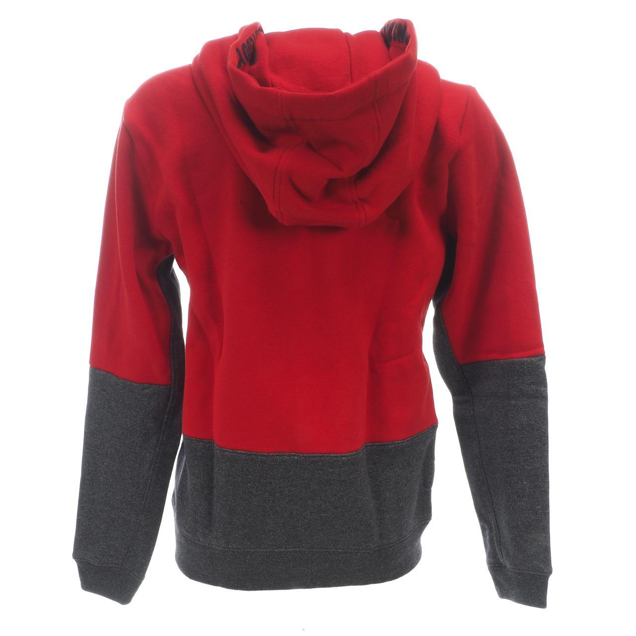 Jacken-Sweatshirts-Zipped-Kapuze-Teddy-Smith-Gafe-Blood-Fz-Umhang-Sw-Jr-Rot