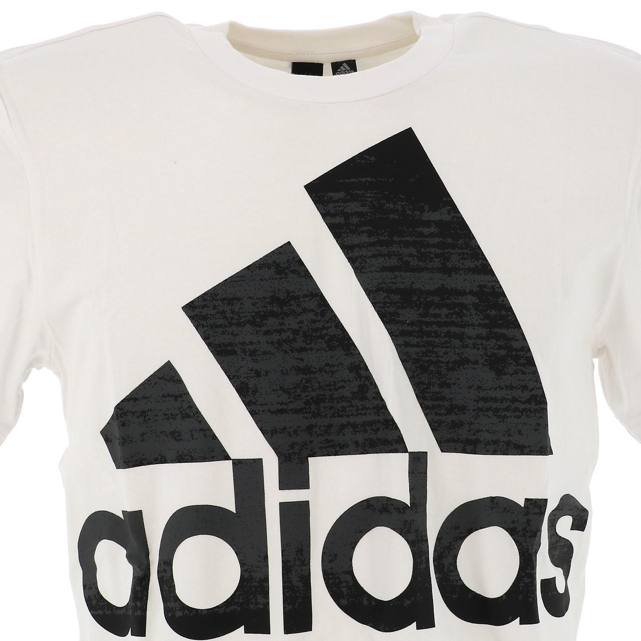 Short-Sleeve-T-Shirt-Adidas-OSR-M-Bos-White-Mc-Tee-White-18247-New thumbnail 2