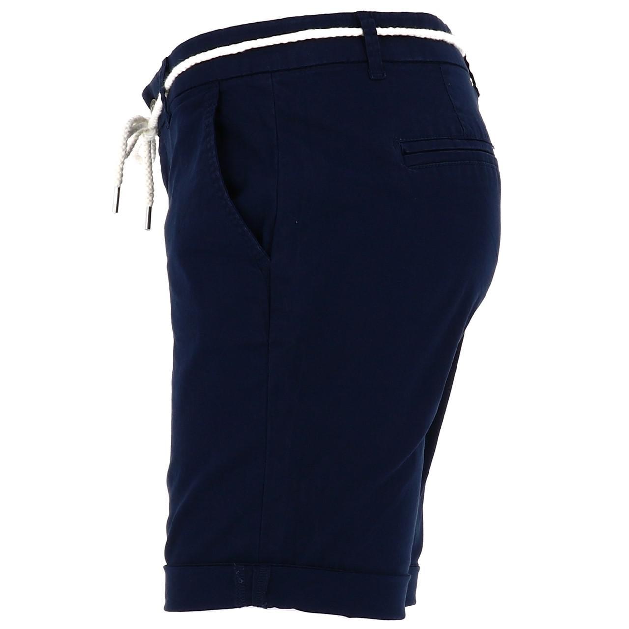 Bermuda-Shorts-Only-Paris-L-Chino-Navy-Shorts-Blue-18677-New thumbnail 2